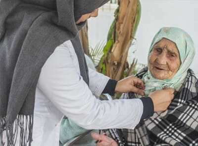 Priority to care for the elderly